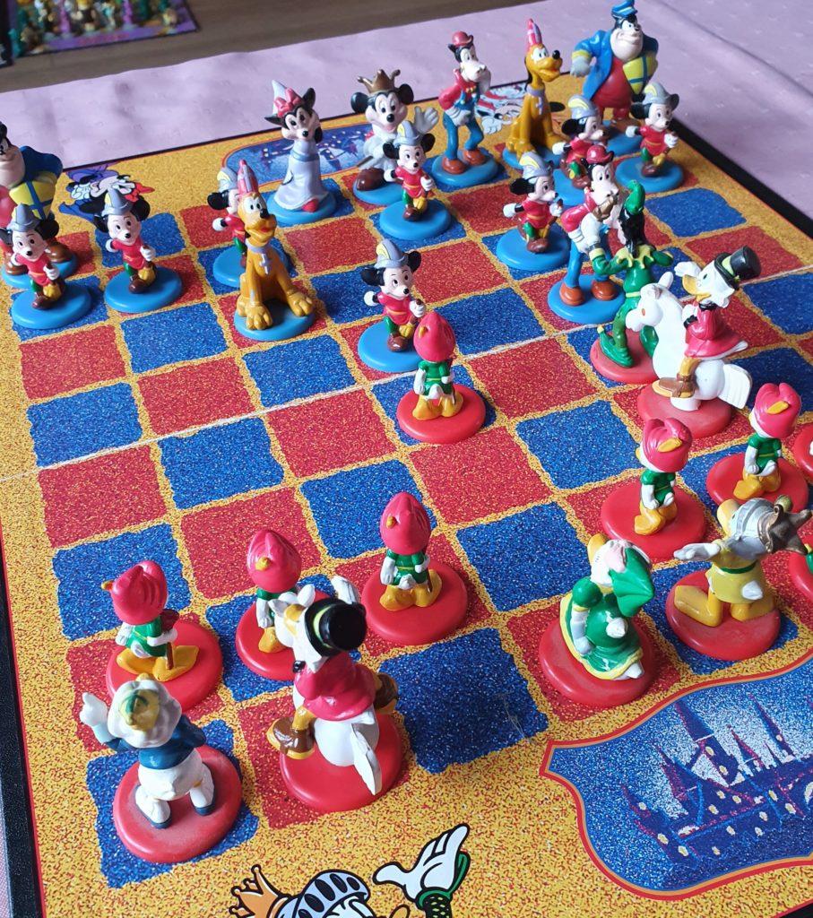 Donald-Duck/ Micky Maus Schachset